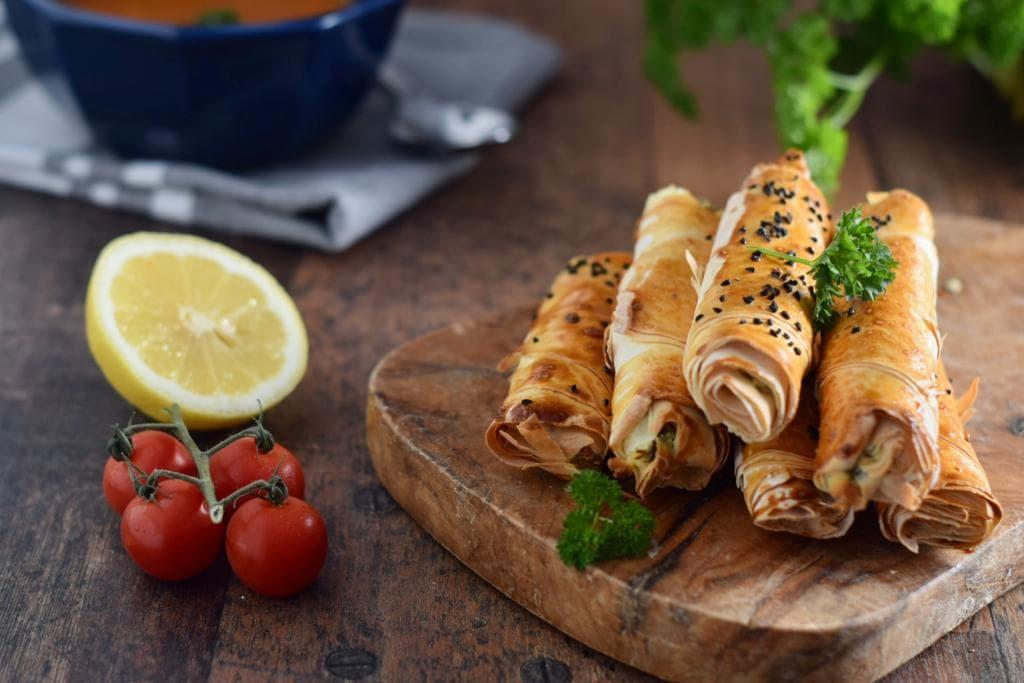 Borek turc au fromage (Sigara Böreği)