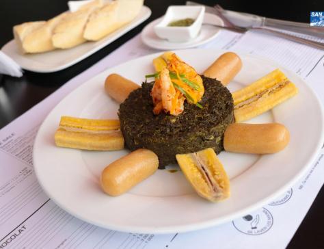 MAYAGHAS Feuilles de manioc aux crevettes 2