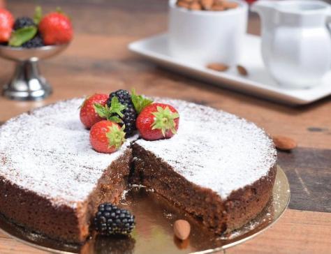 Torta Caprese ( Gâteau Italien sans Gluten)