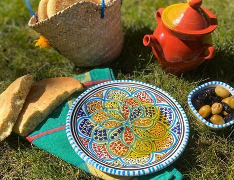 Khobz Tabouna, pain tunisien au four