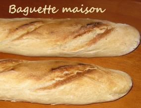 Baguette maison traditionnelle