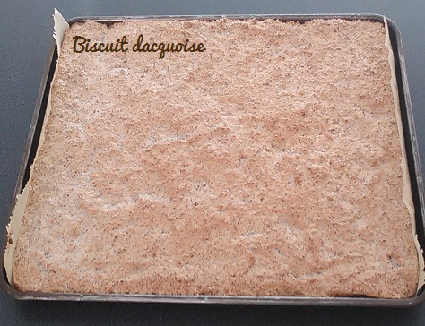 Biscuit dacquoise