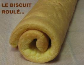 Biscuit roule