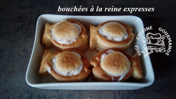 Bouchees a la reine expresses au thermomix