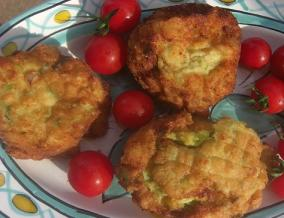Boules croustillantes de courgettes et de pommes de terre