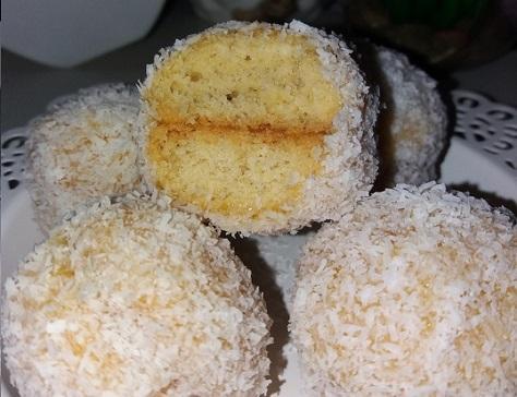 Boules fondantes noix de coco