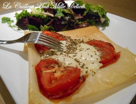 Brick chorizo et mozzarella