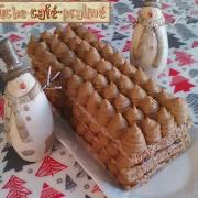 Buche rectangulaire cafe praline