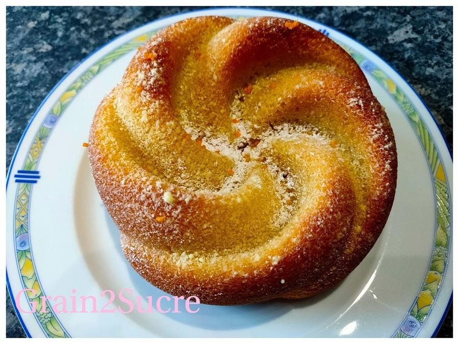 Bundt cake aux oranges