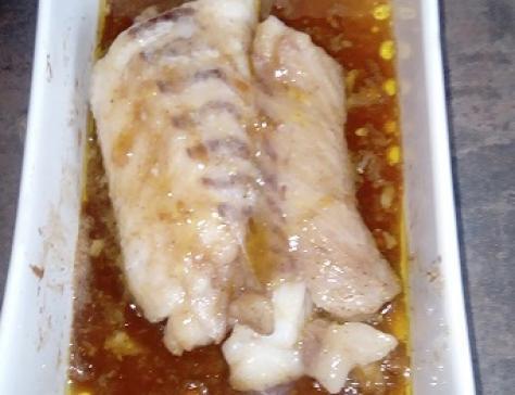 Cabillaud sauce teriyaki