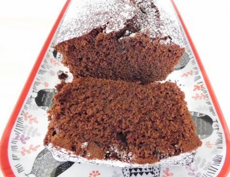 Cake au cacao et au cafe
