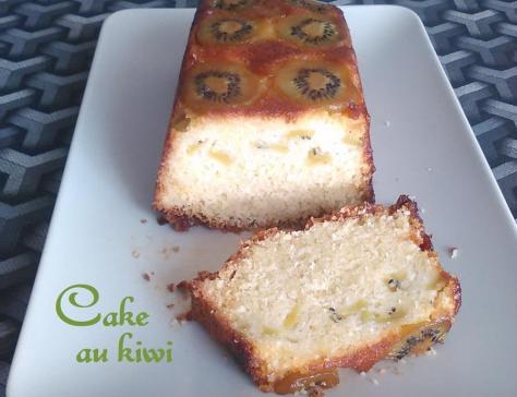 Cake au kiwi