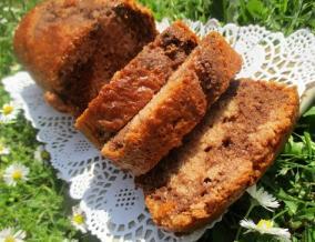 Cake choco framboises de laurent mariotte