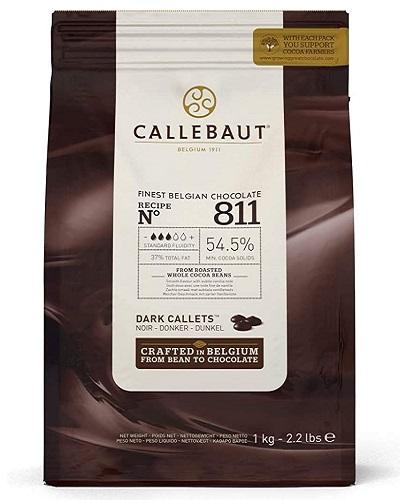 Callebaut pepites de chocolat noir