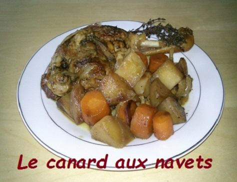 Canard aux navets
