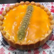Charlotte exotique mangue ananas kiwi