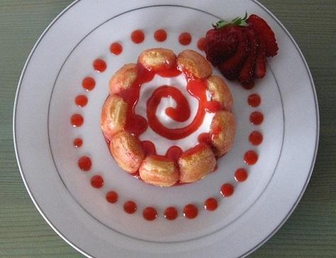 Charlottines aux fraises 2