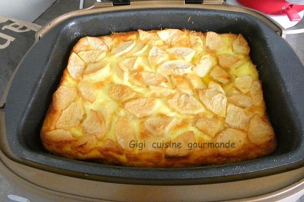 Clafoutis aux pommes au cake factory