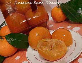 Clementines corses confites