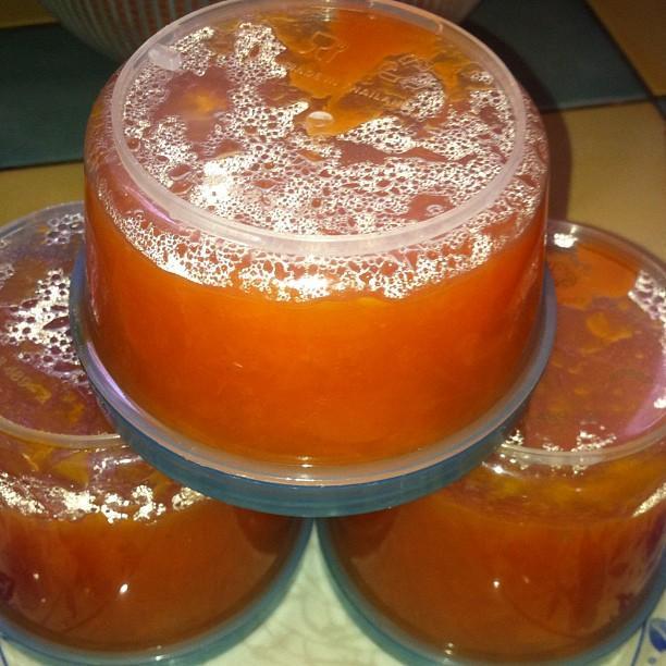 Confiture d abricot au citron et a la vanille
