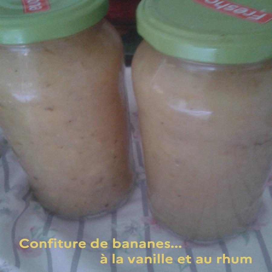 Confiture de bananes
