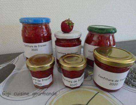 Confiture de fraises ultra rapide