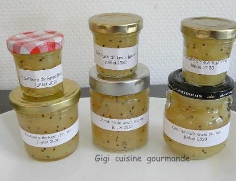 Confiture de kiwis gold au compact cook