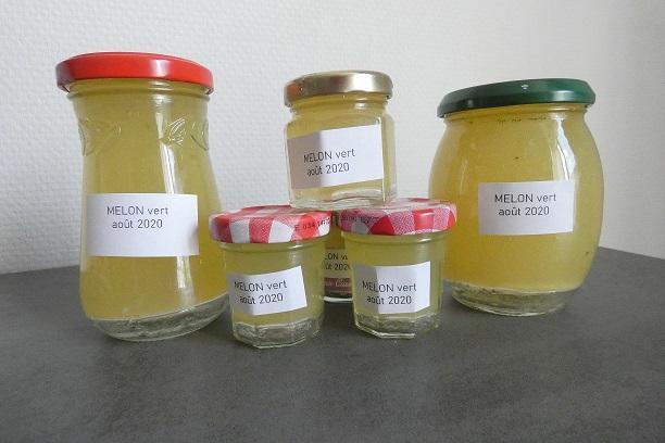 Confiture de melon vert au compact cook pro