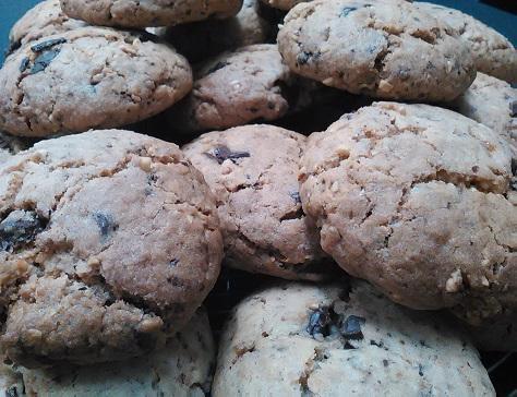 Cookies extra au pralin et a la noisette