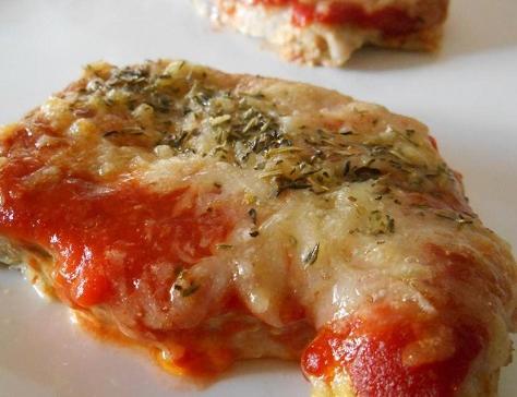 Cote de porc gratinee tomate comte