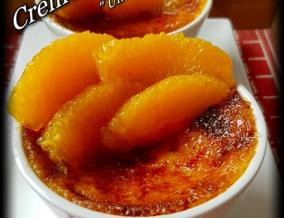 Creme brulee a l orange