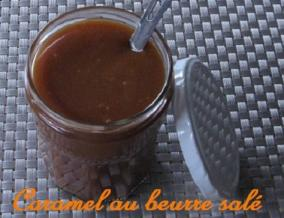 Creme de caramel au beurre sale