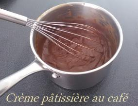 Creme patissiere au cafe