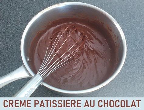Creme patissiere au chocolat