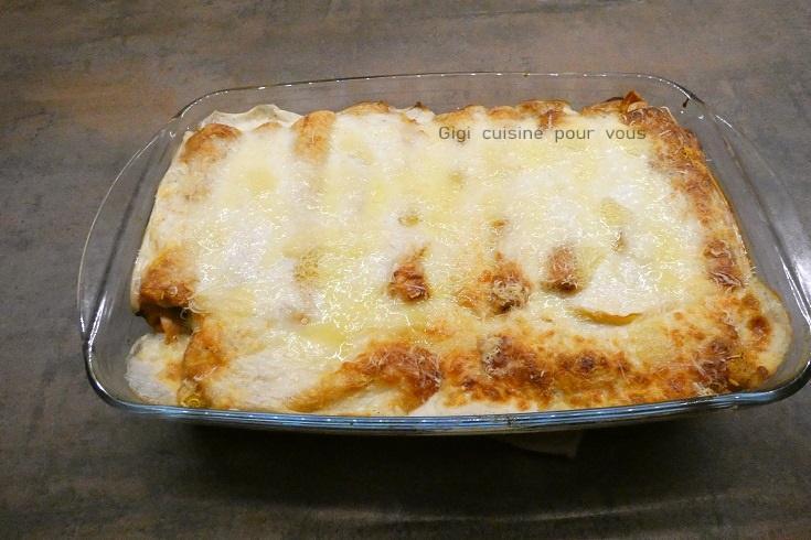 Crepes bolognaises facon lasagnes