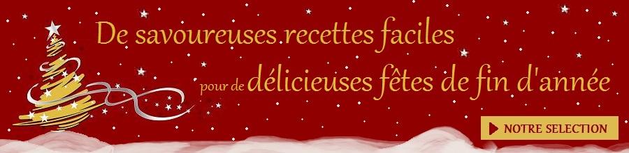De savoureuses recettes pour les fetes nos recettes