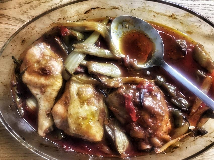 Delice de poulet a la sauce soja