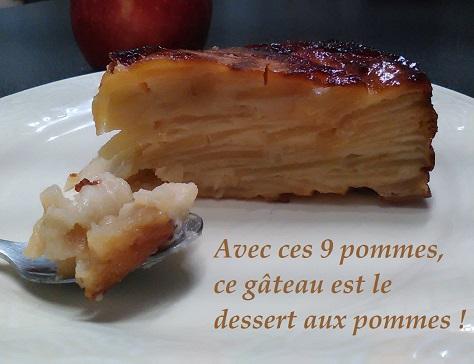 Dessert aux pommes tres pomme