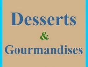 Desserts et gourmandises 2