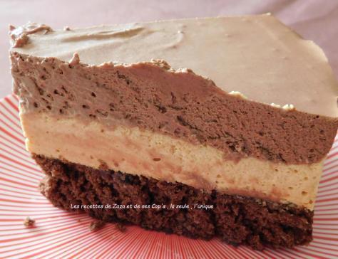 Bavarois Chocolat et Caramel