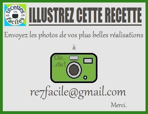 Envoyer 1 photo vert