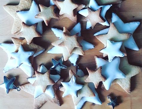Etoiles sablees de noel