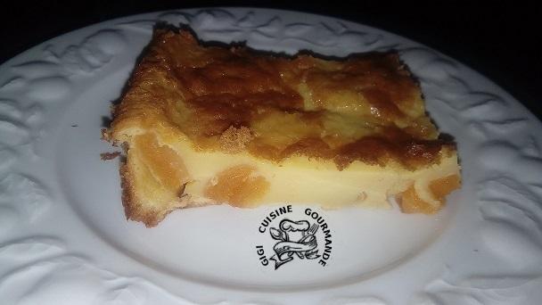 Far breton avec 1 oeuf d oie et abricots secs