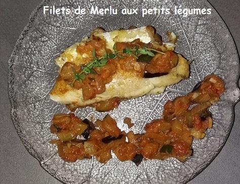 Filet de merlu aux petits legumes