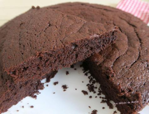 Fondant moelleux au chocolat