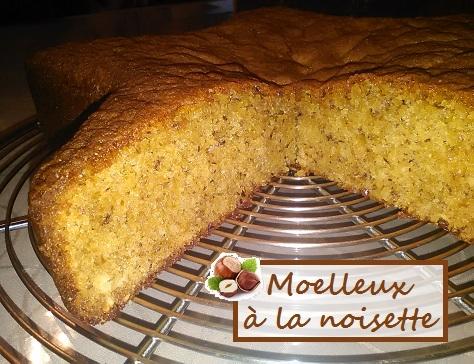 Gâteau facile à la noisette