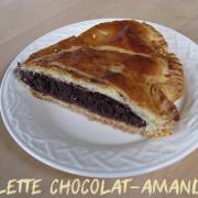 Galette chocolat amandes