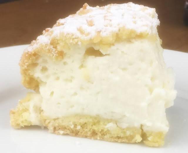 Gateau a la creme de yaourt grec