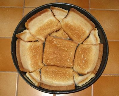 Gateau de pain de mie facon pizza 1