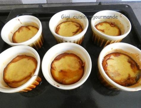 Gateau de semoule caramel au compact cook pro